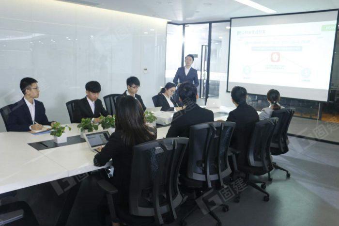 固建机械销售部会议(图1)